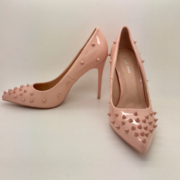 Spike Court Shoe Pink