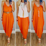 Jersey Cocoon Maxi Dress (Assorted Colours)