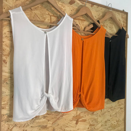 Light Weight Hi Lo Top ( Assorted Colours)