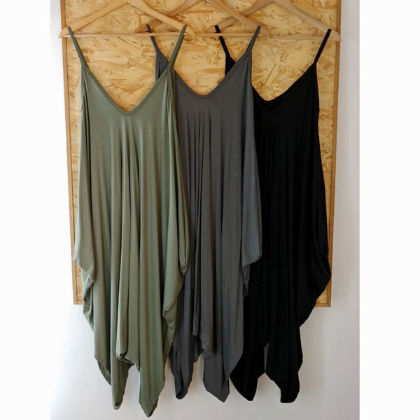 Jersey Harem Jumpsuit (Assorted Colours)