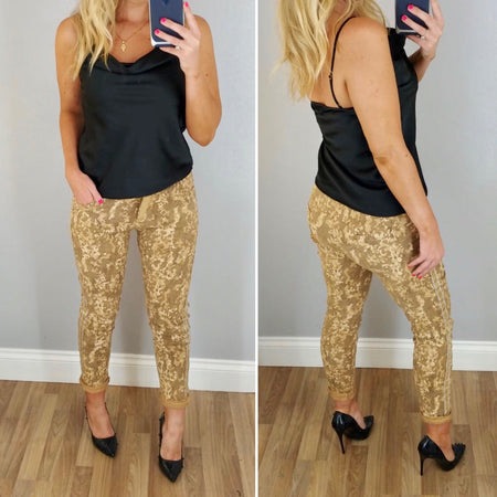 Gold Animal Top