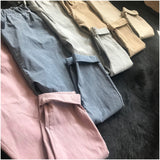 Stretch Cropped Trouser (Assorted Colours)
