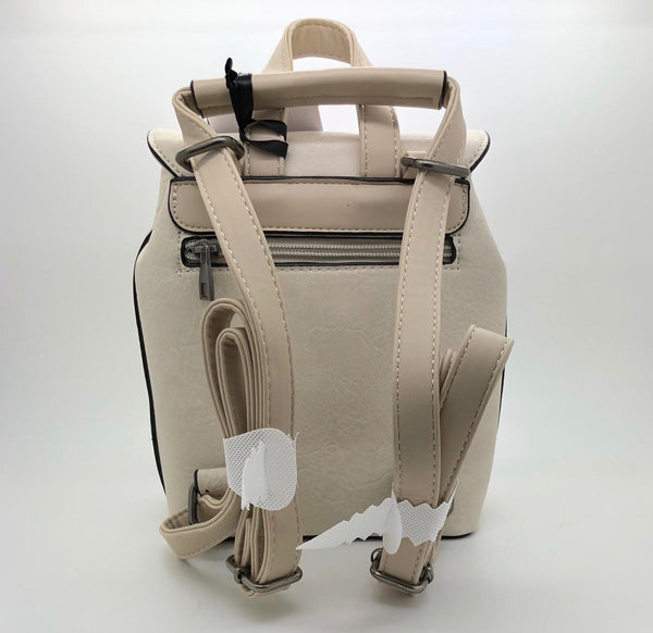 Cream Classic Small Backpack