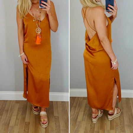 Rouched Bardot Dress