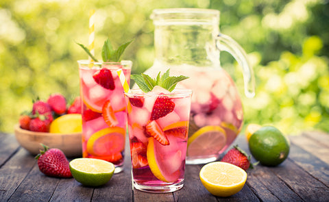 detox or infused water claims to aid in weight loss and boost your energy