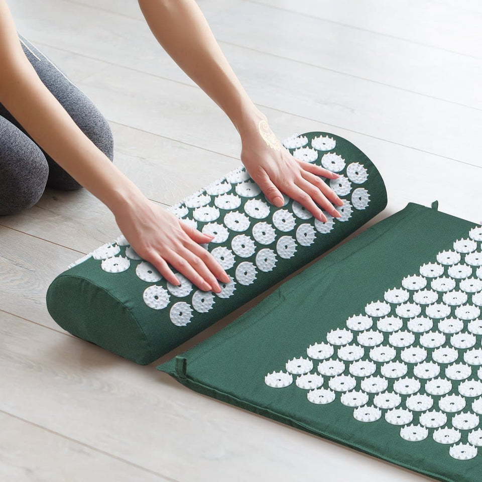 TipsForHips™ Acupressure Mat With Pillow - Tips for Hips
