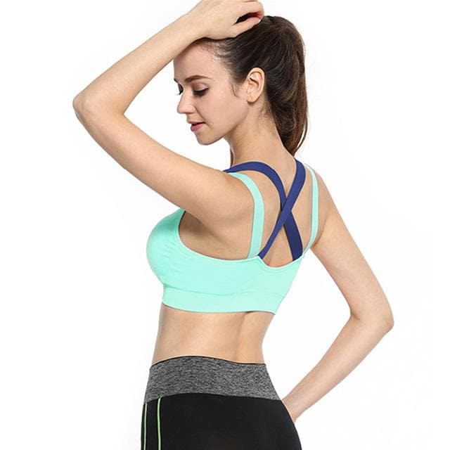 TipsForHips™ Cross Strap Fitness Bra - Tips for Hips