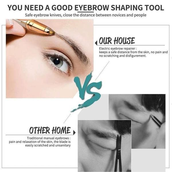 TipsForHips™ Electric Eyebrow Trimmer - Tips for Hips