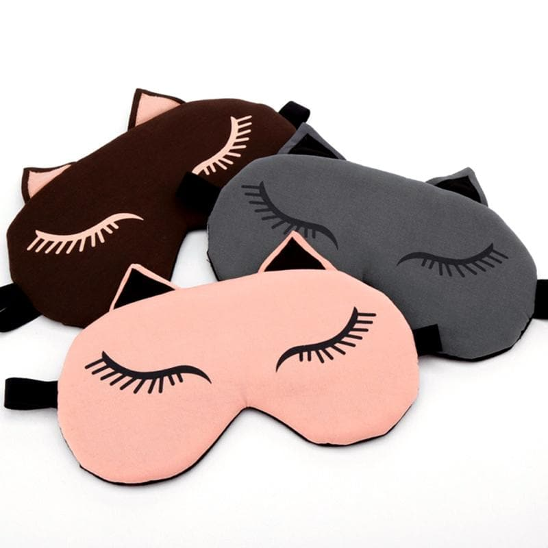 TipsForHips™ Kitty Lashes Sleeping Mask - Tips for Hips