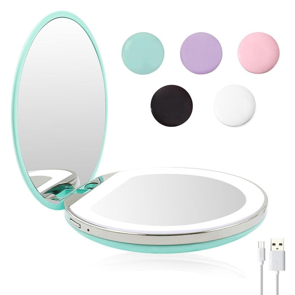LED Glow Up Compact Mirror - Tips for Hips