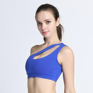 TipsForHips™ One Shoulder Fitness Bra - Tips for Hips