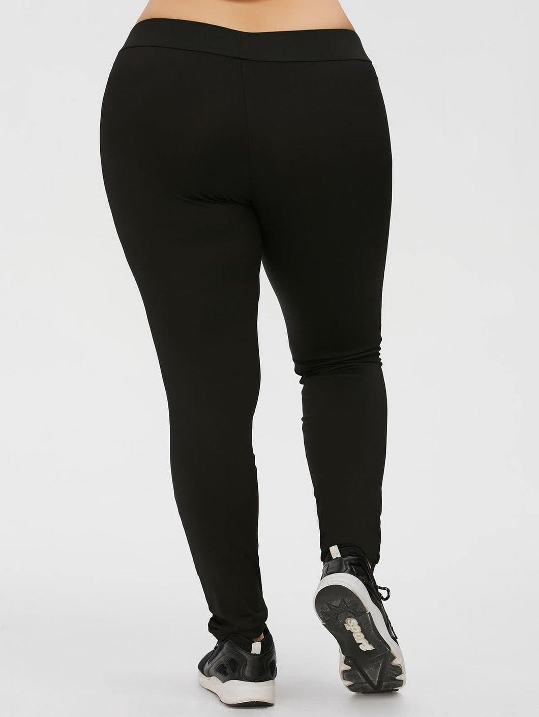 Plus Size Panel Leggings - Tips for Hips