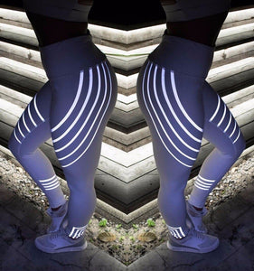 TipsForHips™ Rainbow Reflective Leggings - Tips for Hips