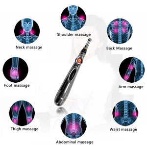 Smart Massage Pen - Tips for Hips