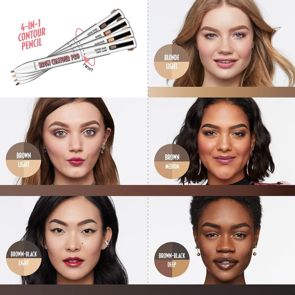 TipsForHips™ 4-in-1 Brow Contour & Highlight Pen - Tips for Hips