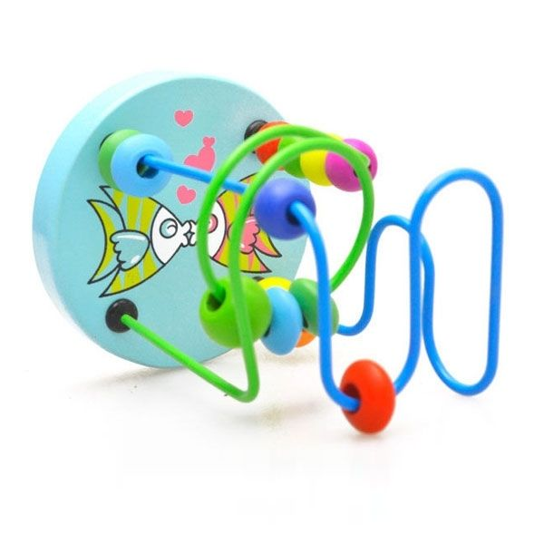 Colorful Wooden Beads Educational Toy