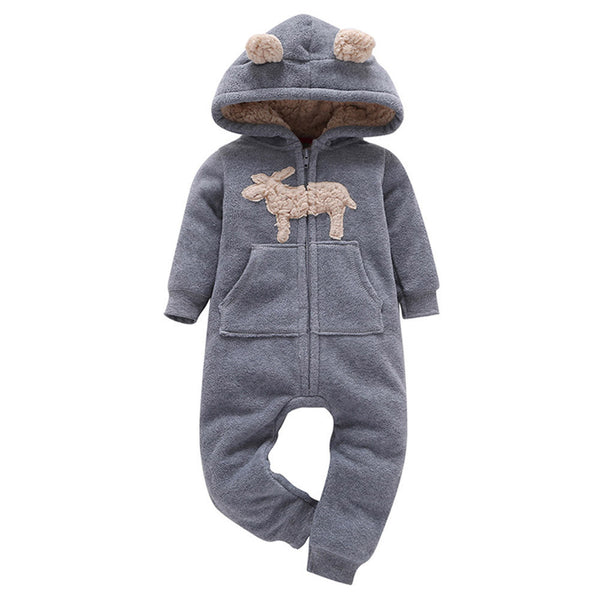 Baby Hooded Jumpsuit
