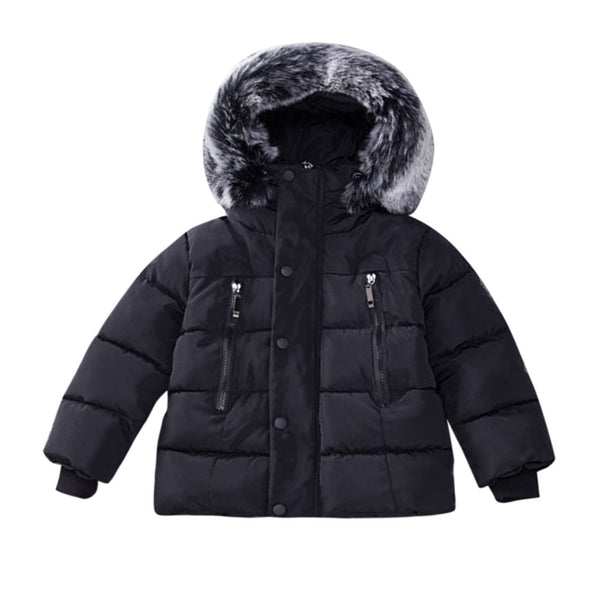 Winter Thick Hooded Down Jacket