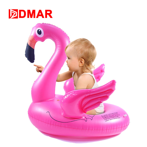 Inflatable Giant Flamingo Float for Kids