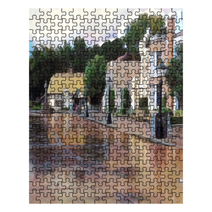 """Rainy Days in Disney World Are the Best Days"" Jigsaw Puzzle"