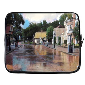 """Rainy Days in Disney World Are the Best"" Laptop Covers"