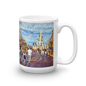 """Dreaming of Main Street"" Mug"