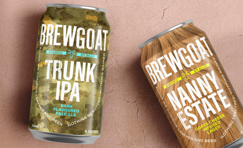 Introducing BREWGOAT: Our new beer