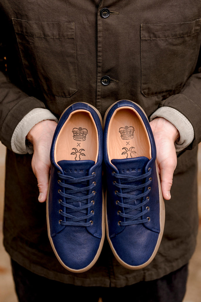 Billy Crown Sneaker Navy