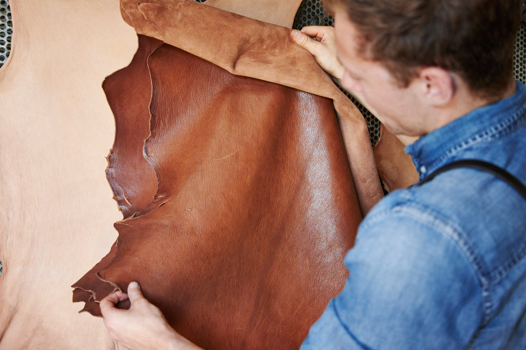 Billy Tannery Goat Leather