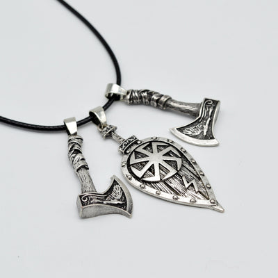 norse axe nordic mjolinr jewelry necklace viking pendant products