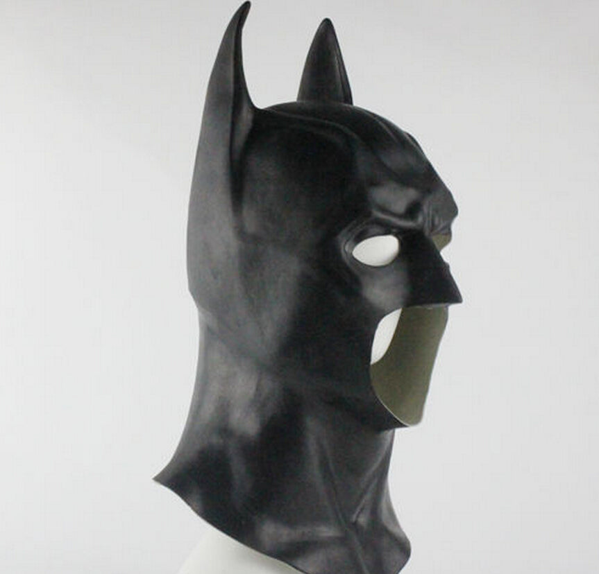 Latex Batman Cosplay Mask