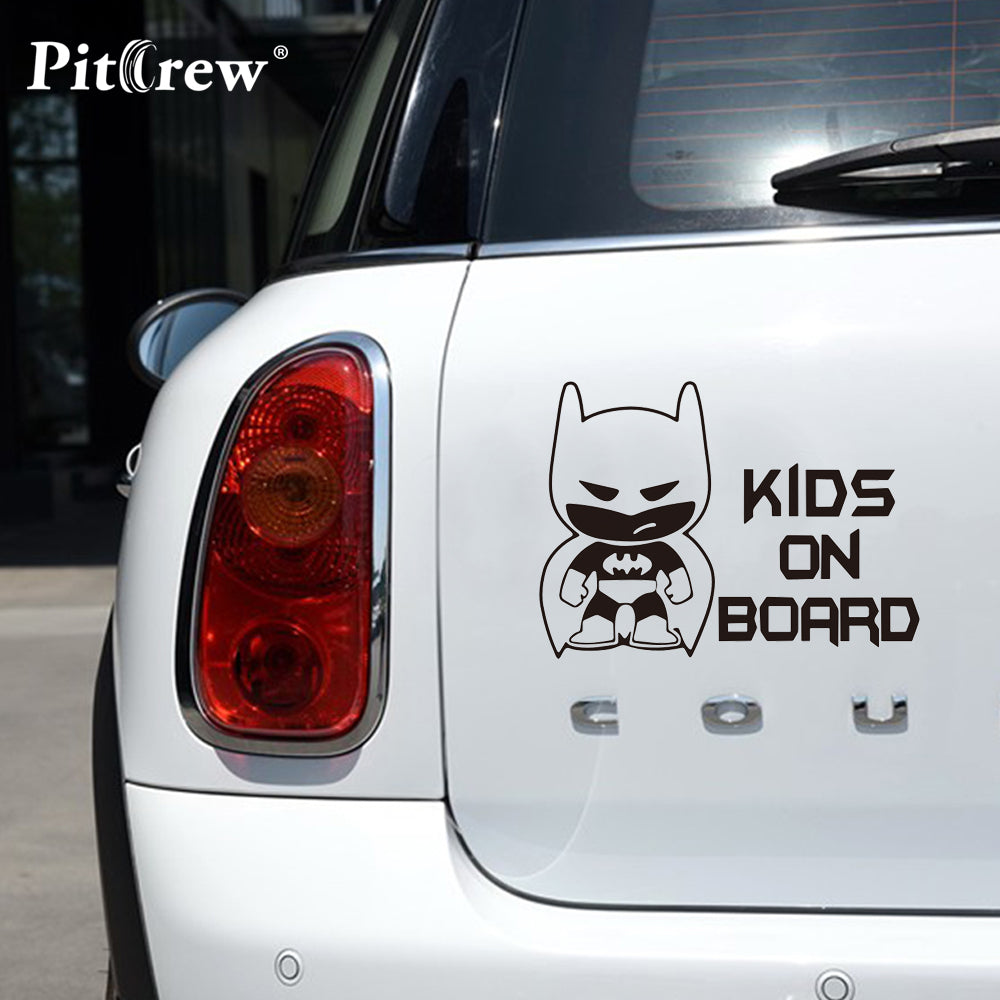 Batman Car Decal Kids on Board