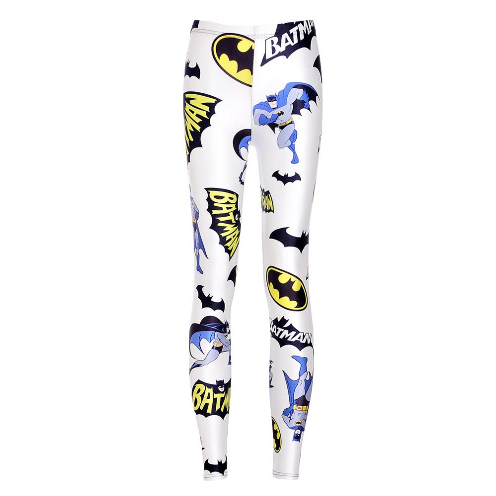 Women's Batman Printed Leggings Logo Mix