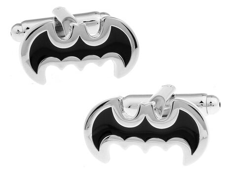 Batman Cufflinks Black