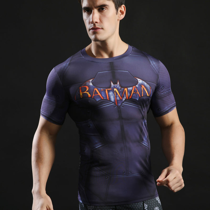 Batman Compression Fitness Tee AE
