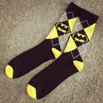 HOT Sale Unisex Super Hero Superman Batman Cosplay Knee High Sock Soccer Cosplay Socks For New Year Product