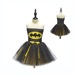 Girls Batman & Robin Costume Dress