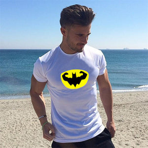 Batman T-Shirt Gym Bat