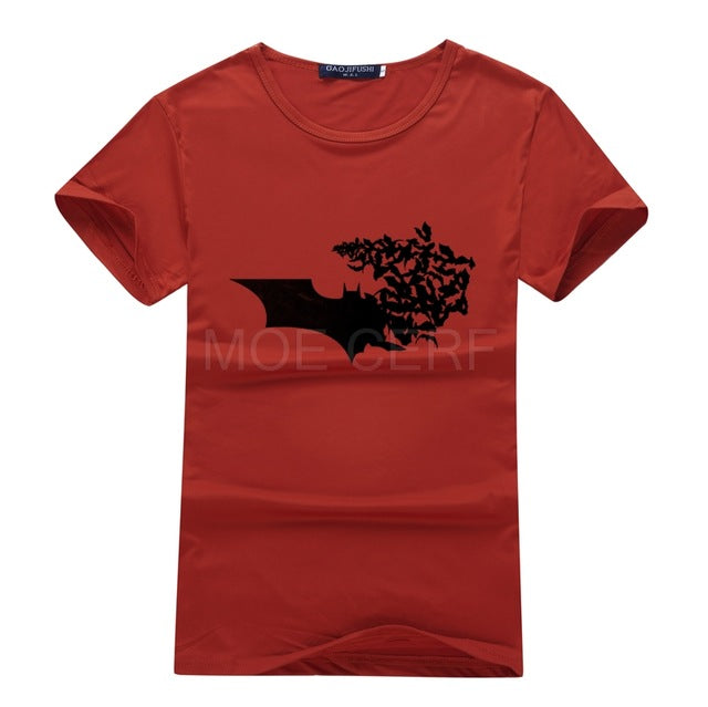 Batman T-Shirt Shattered Bat