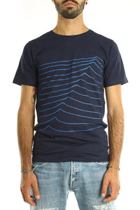 t-shirt bask in the sun sweel navy fw 18 19 front