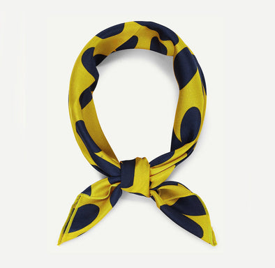 headband yellow heart