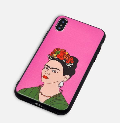 Case iPhone Frida kahlo