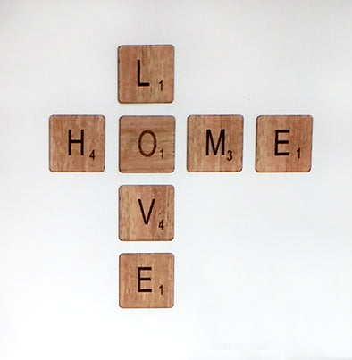 Scrabble HOME LOVE