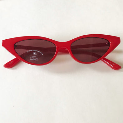 Gafas Vintage in red