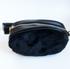 Belt bag fur faux