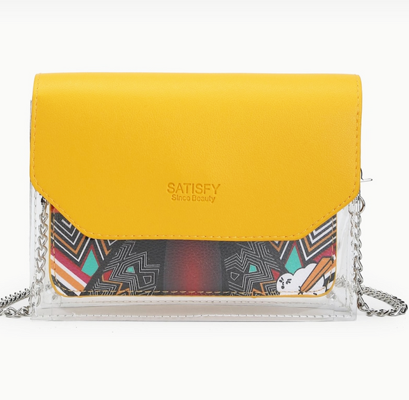 Crossbody bag transparent