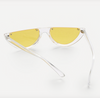 Gafas clear frame yellow