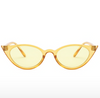 Gafas cat eye yellow