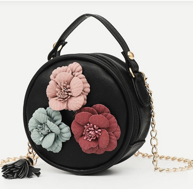 Mini shoulderbag roses