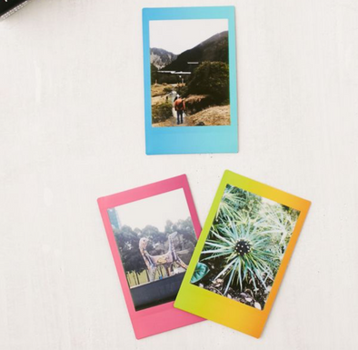 Instax mini film rainbow